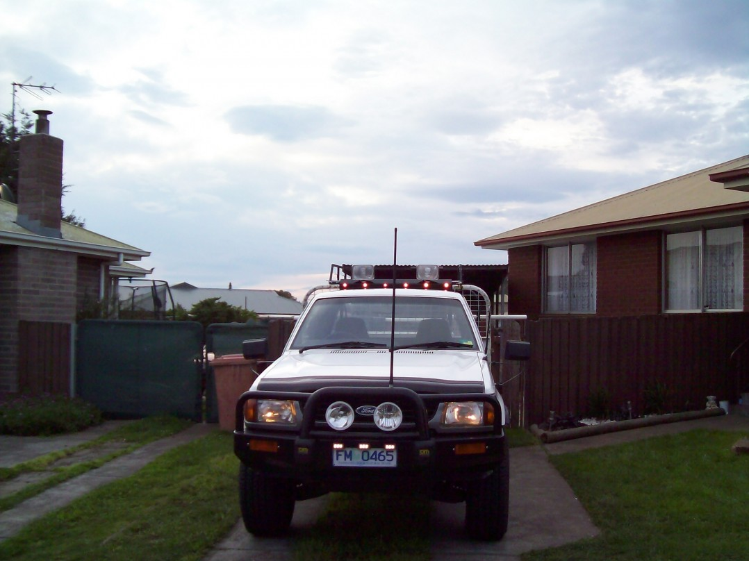 1996 Ford COURIER (4x4)