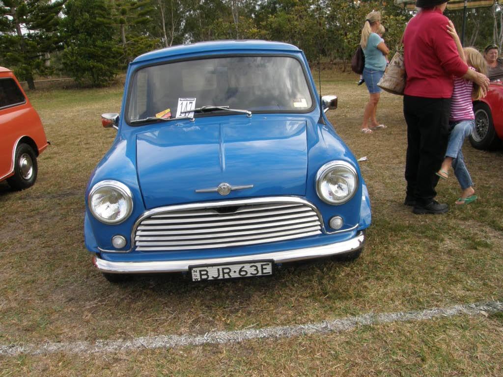 1967 Morris Mini Panel Van