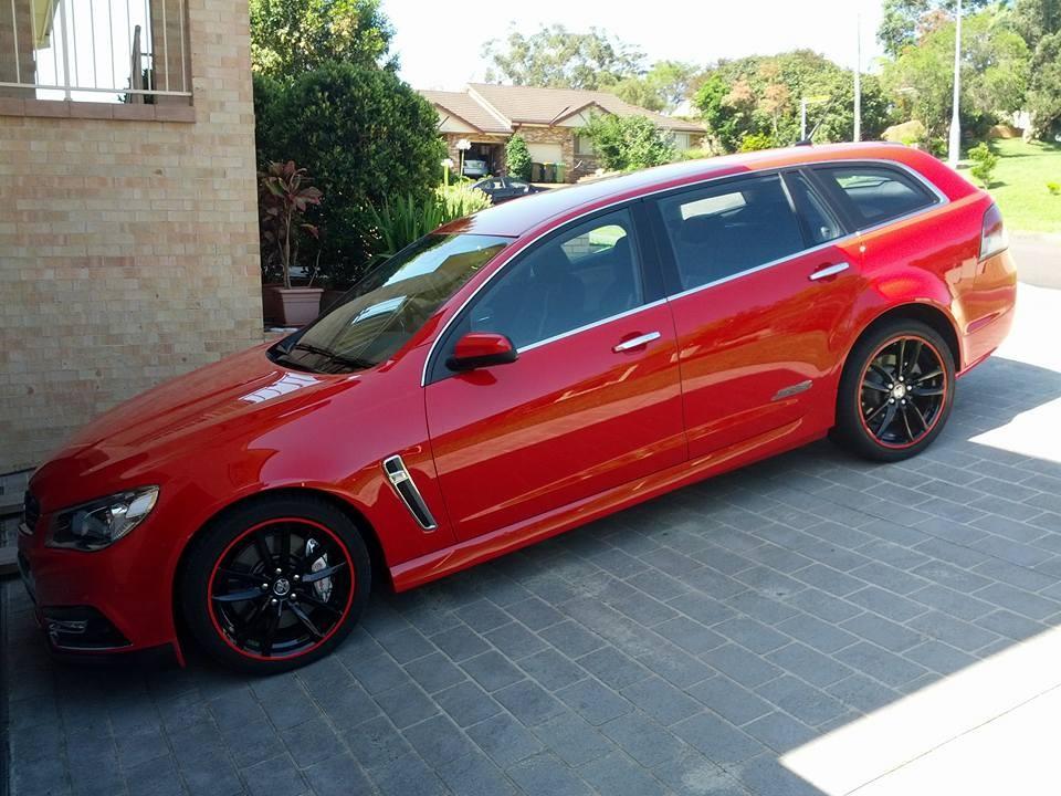 2014 Holden COMMODORE SSV Redline Sportwagon