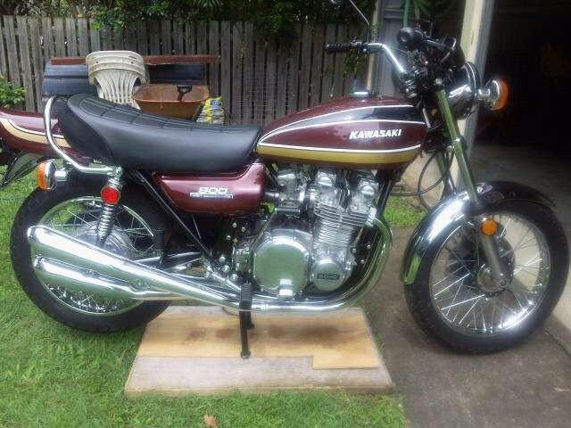 1975 Kawasaki Z1B 900