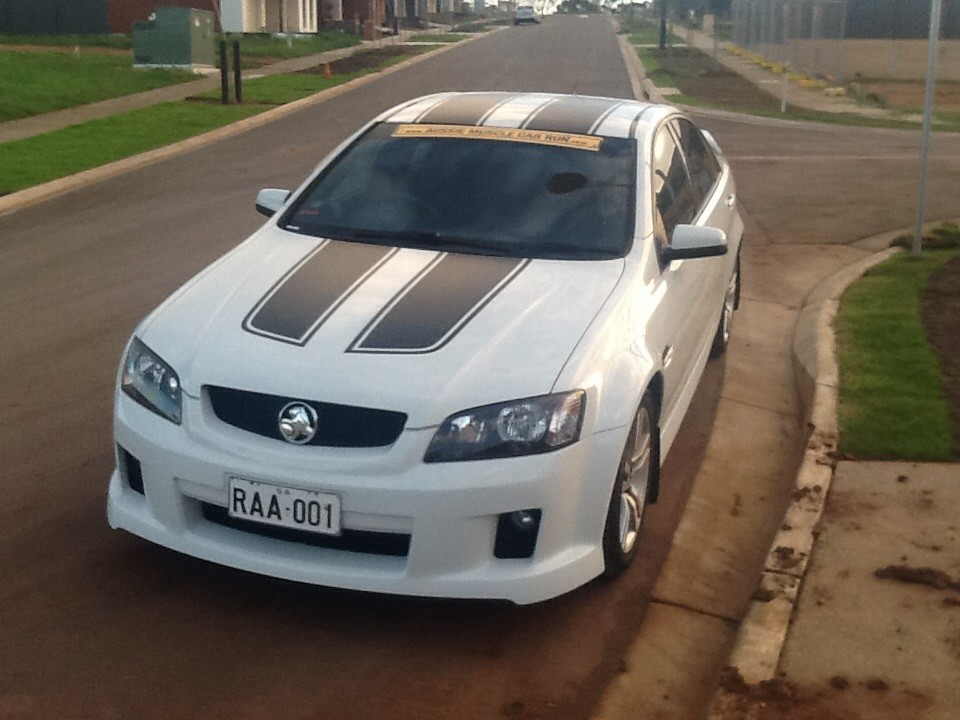 2008 Holden Commodore SV6 VE