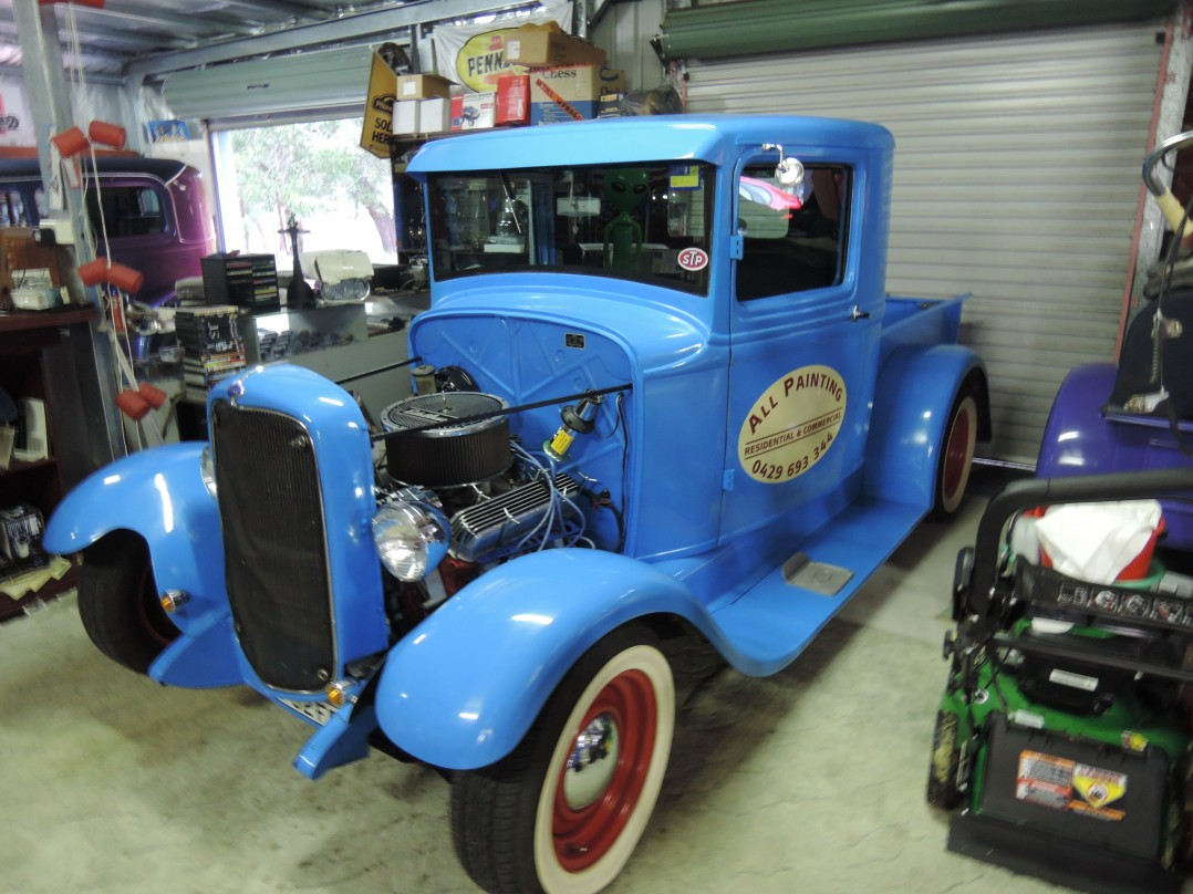 1932 Ford closed cab pick up