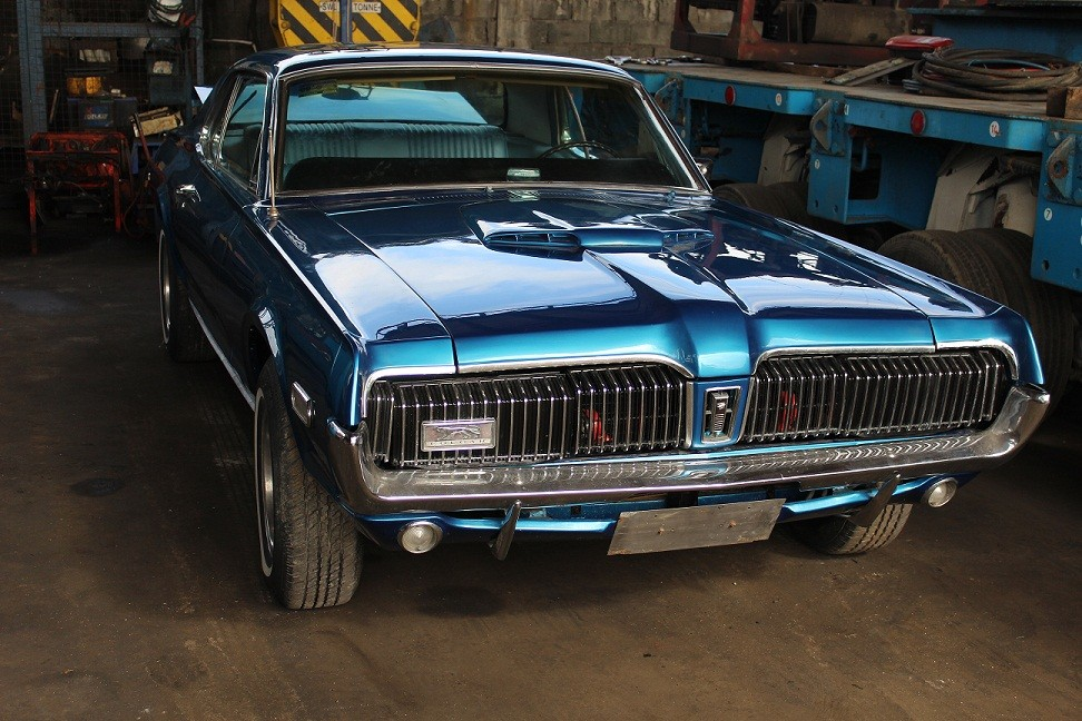 1968 MERCURY COUGAR FORD