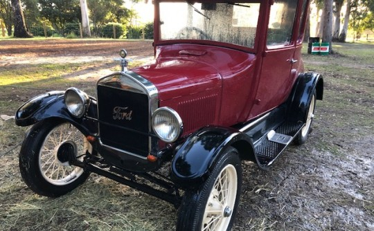 Model T Doctor's Coupe
