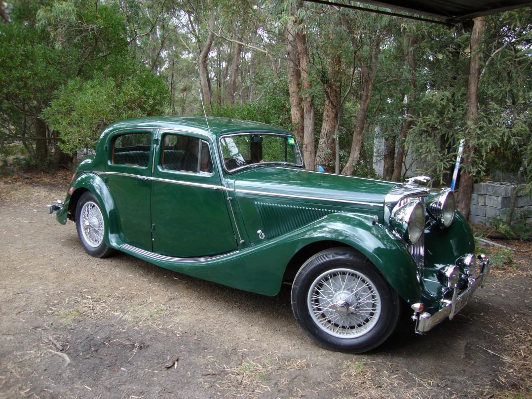 1947 Jaguar Mark IV