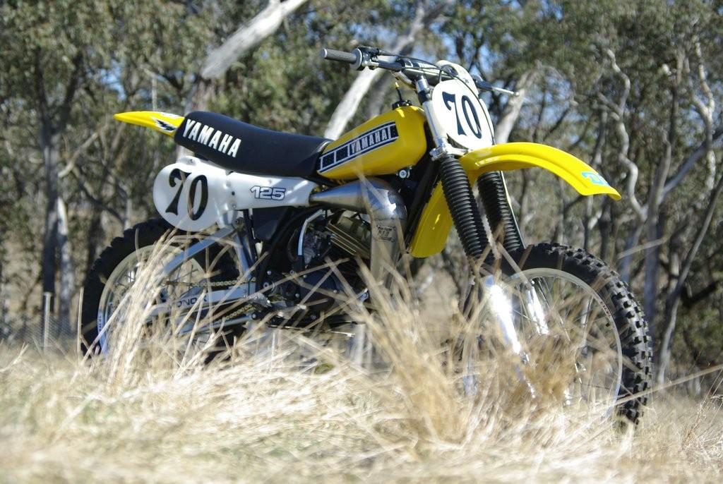 1980 Yamaha YZ125G