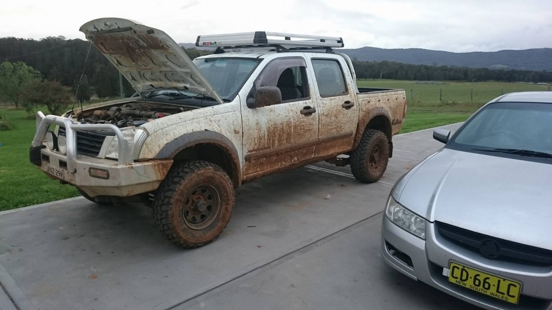 2003 Holden RODEO (4x4)