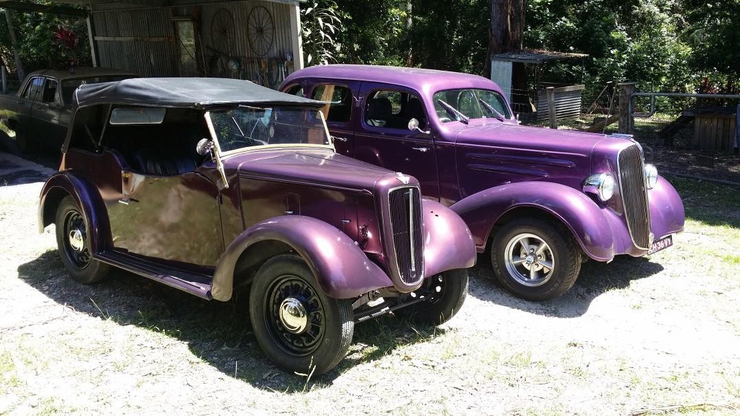 1938 Austin Big Seven   = 8 hpower