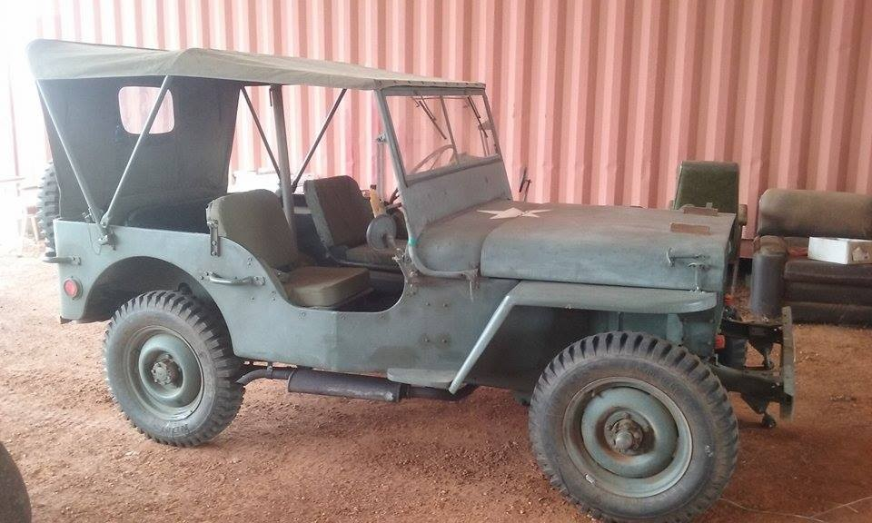 1941 Willys 1/4 ton 4x4 truck MB