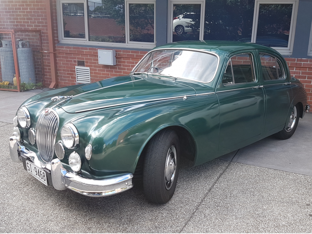 1957 Jaguar 2.4 litre saloon (Mark 1)