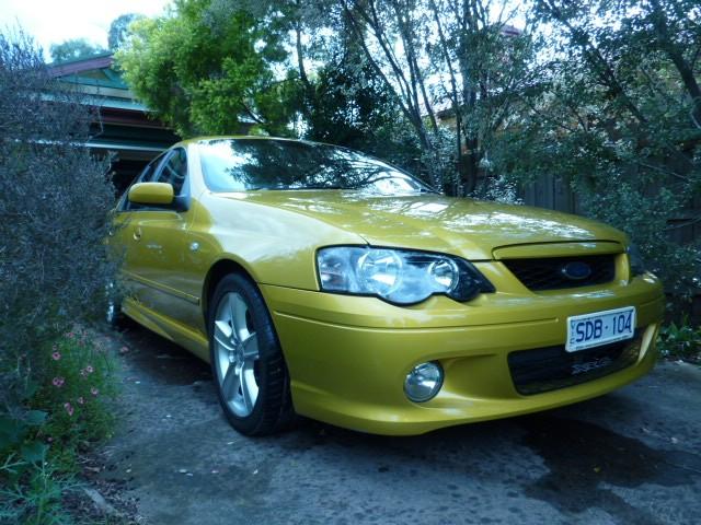 2003 Ford ba xr6 turbo