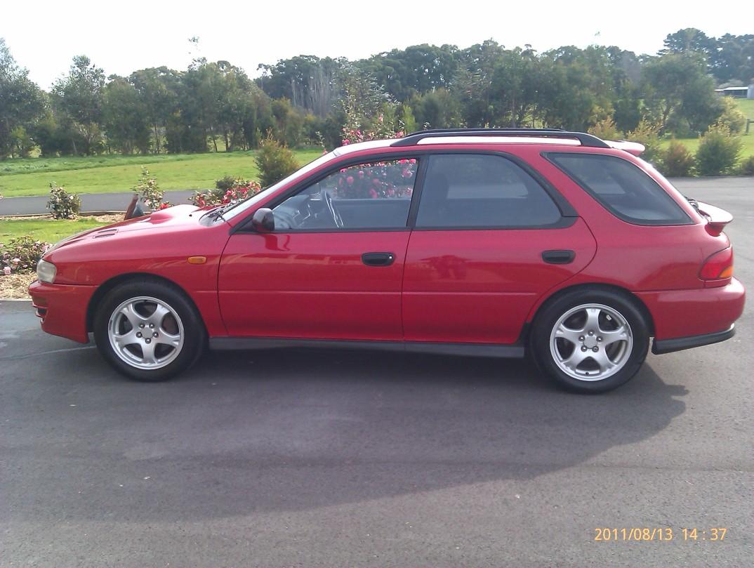 1998 Subaru IMPREZA 2.0i (AWD) WRX