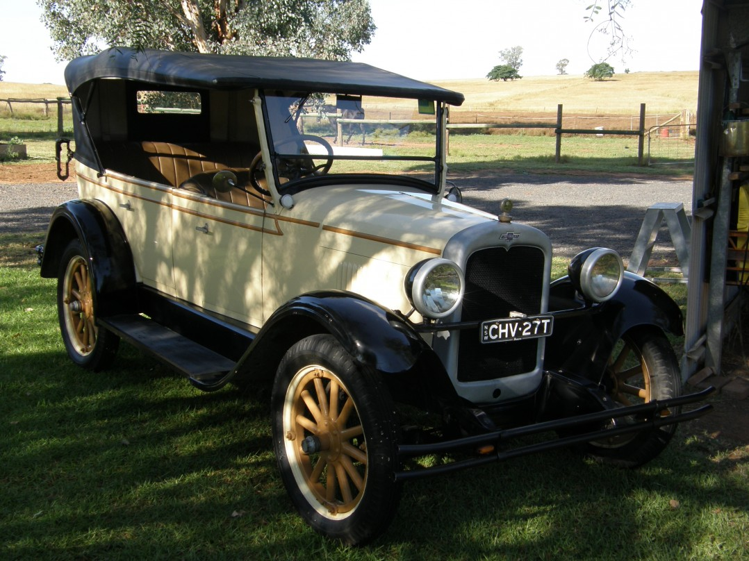 1927 Chevrolet Capitol Touring
