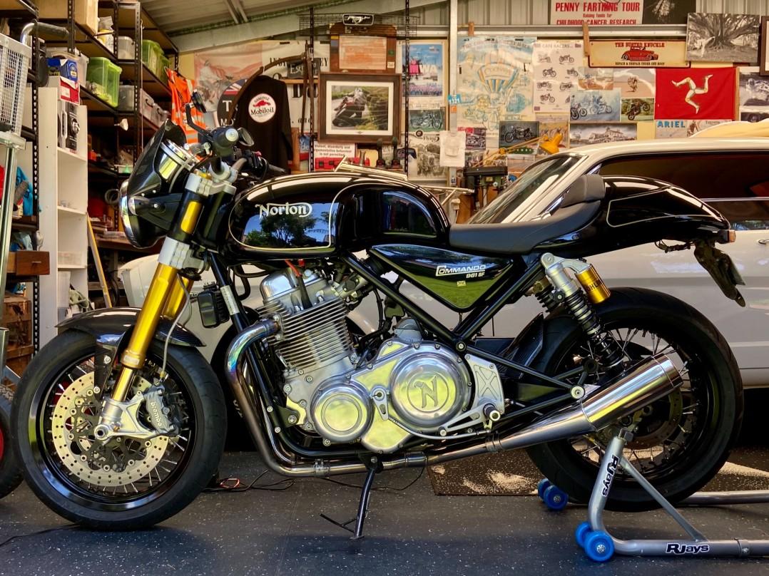2015 Norton Commando 961