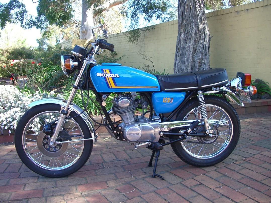 1975 Honda CB125S