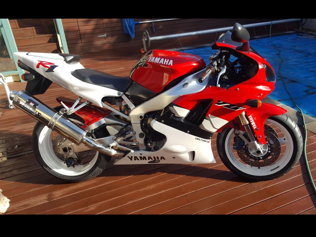 1999 Yamaha 998cc YZF-R1