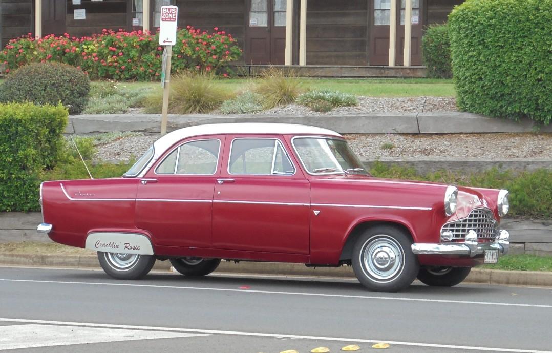 1957 Ford Zephyr Mark 2 Hi-line