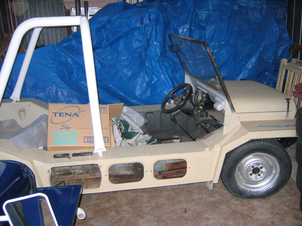 1970 Leyland Moke Californian Export model