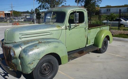 """1946 Ford F1 """"JAILBAR"""""""