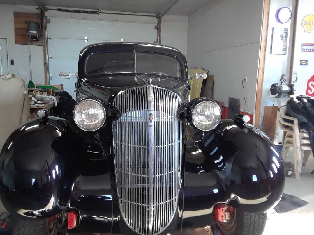 1936 Oldsmobile business coupe