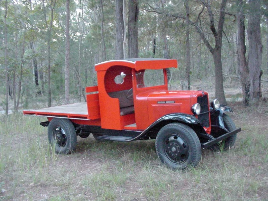 1933 Bedford WHS