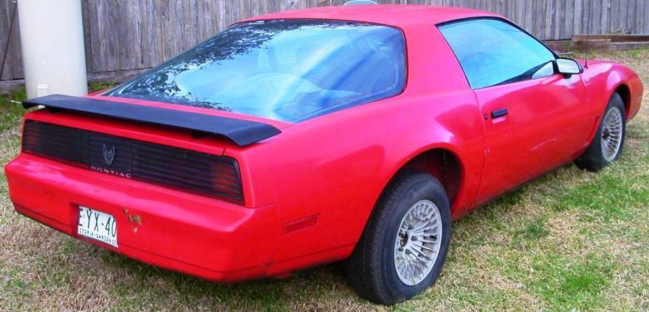 1982 Pontiac Trans Am