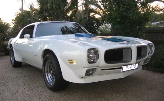 1970 Pontiac Trans Am 1970 1/2