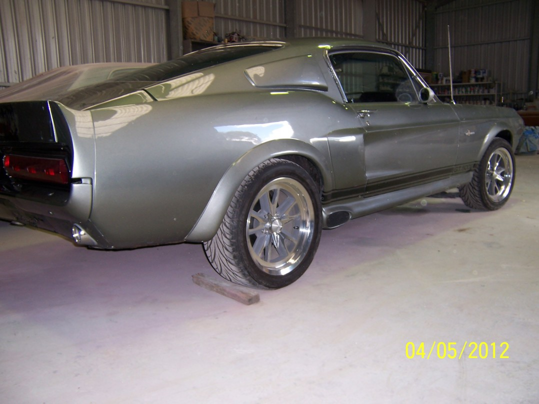 1968 Ford Shelby Mustang GT 500 E