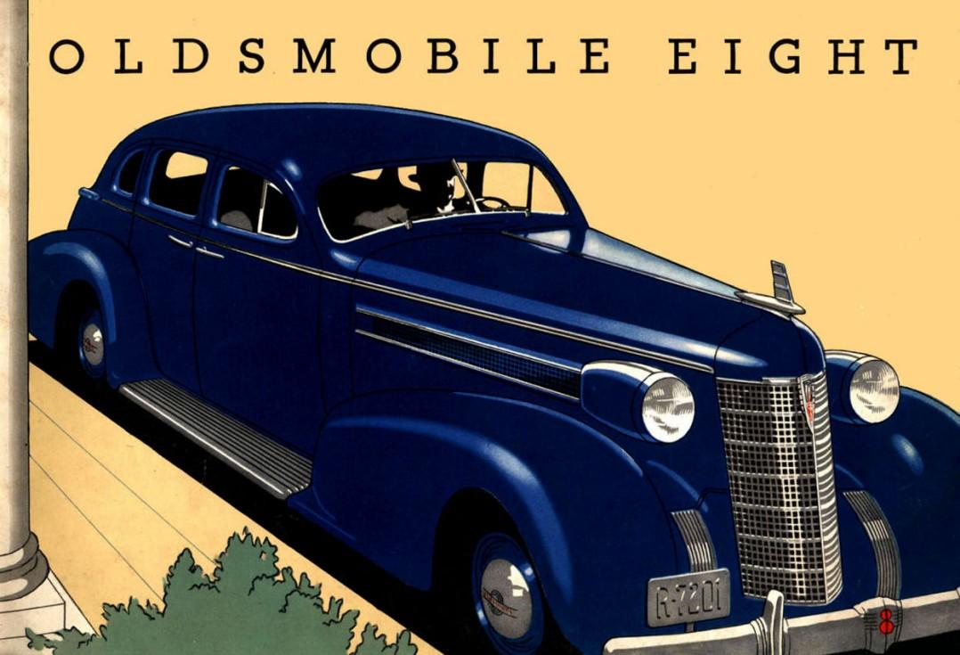 1937 Oldsmobile L37 4 DOOR LUXURY SEDAN