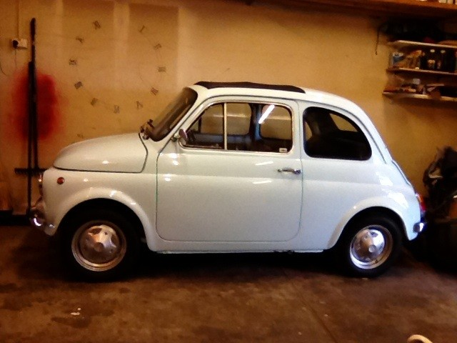 1973 Fiat 500 R (left hand drive)