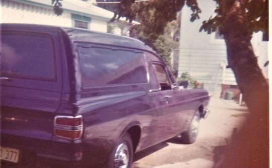 1972 Ford XY panel van