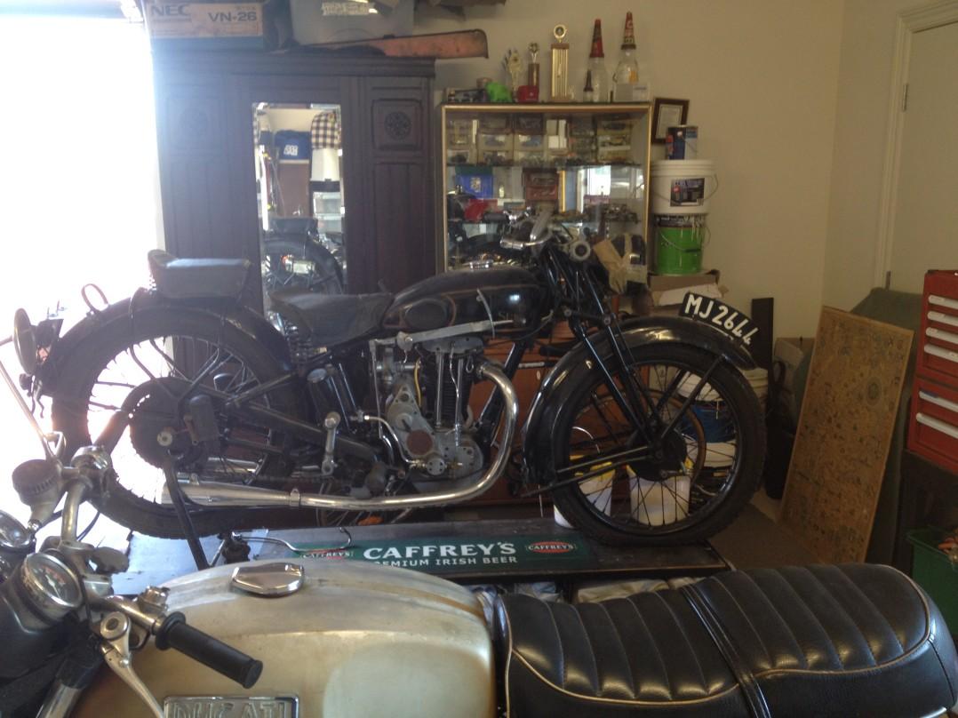 1932 Sunbeam 250 Long Stroke