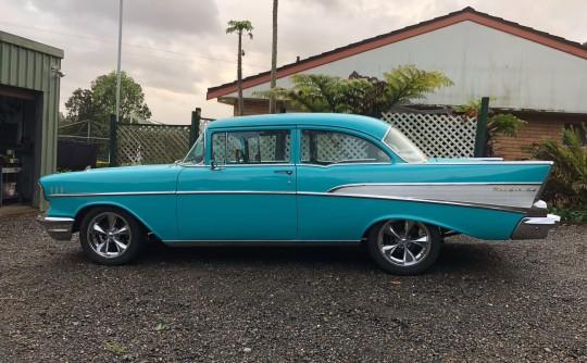 1957 Chevrolet 210 post.