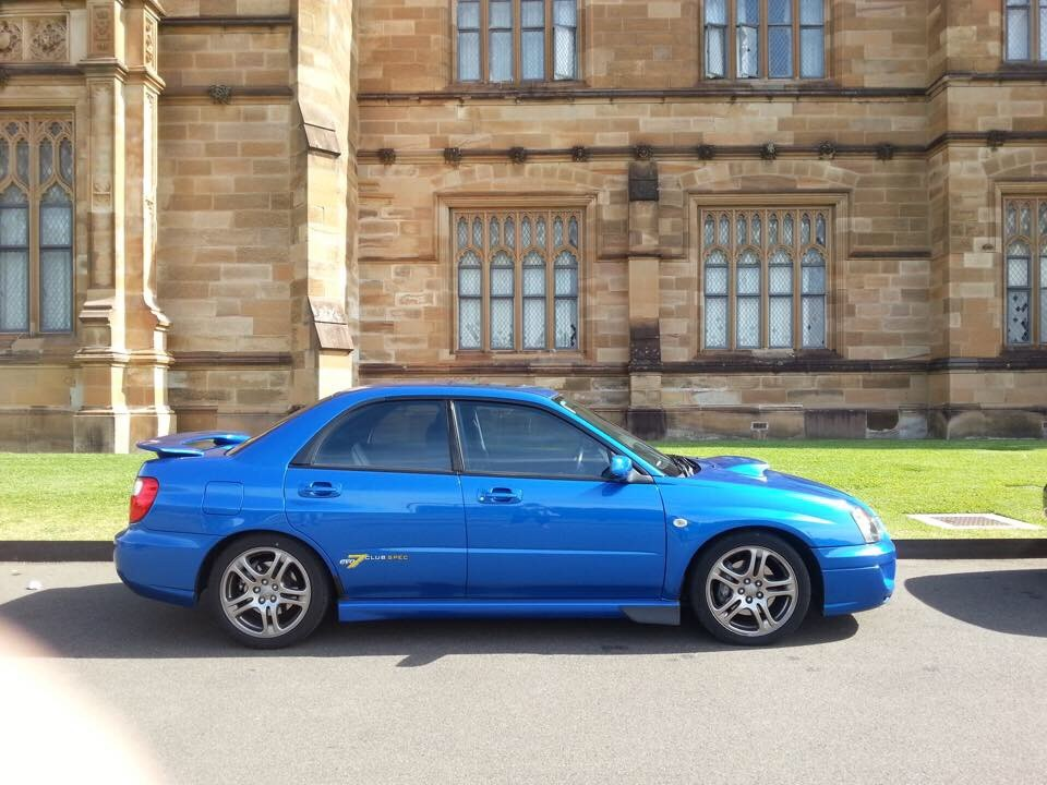 2004 Subaru IMPREZA WRX CLUB SPEC EVO 7