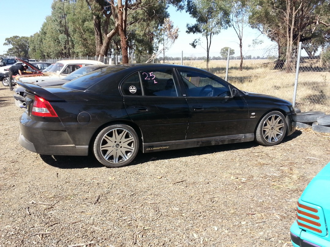 2002 Holden Vy Series 1 CLUBSPORT