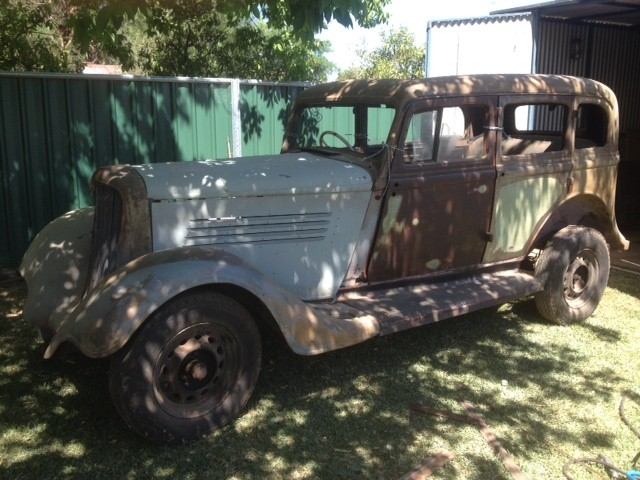 1934 Chrysler CA.