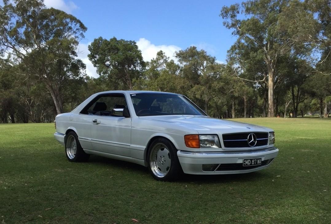 1987 Mercedes-Benz 500SEC