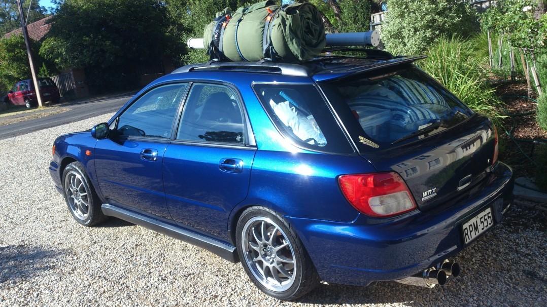 2000 Subaru IMPREZA WRX (AWD)