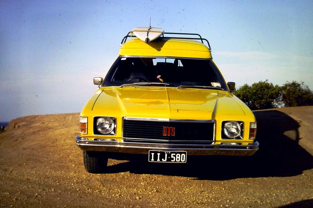 1976 Holden Sandman Panel van