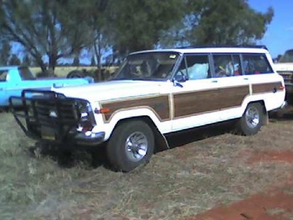 1984 Jeep Grand Wagoneer Limited