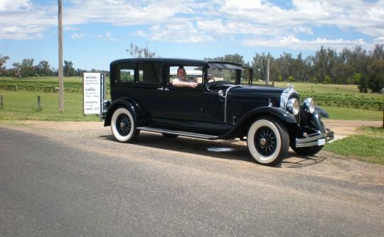 1928 Chrysler Imperial L80 Limousine