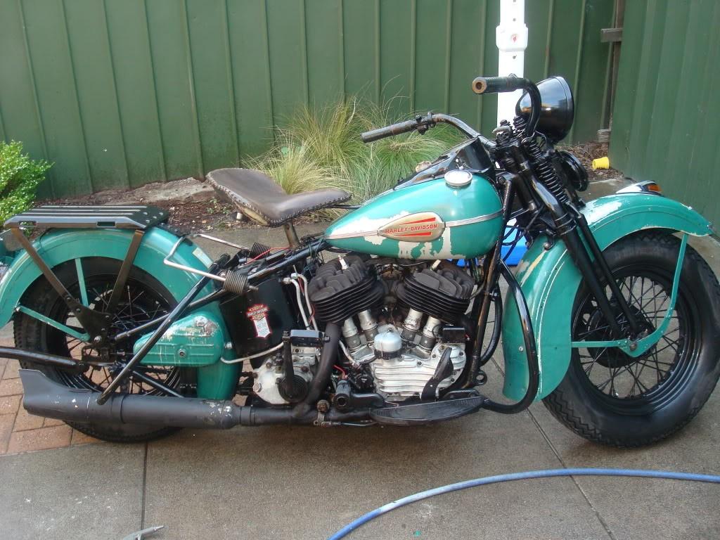 1945 Harley-Davidson U Model