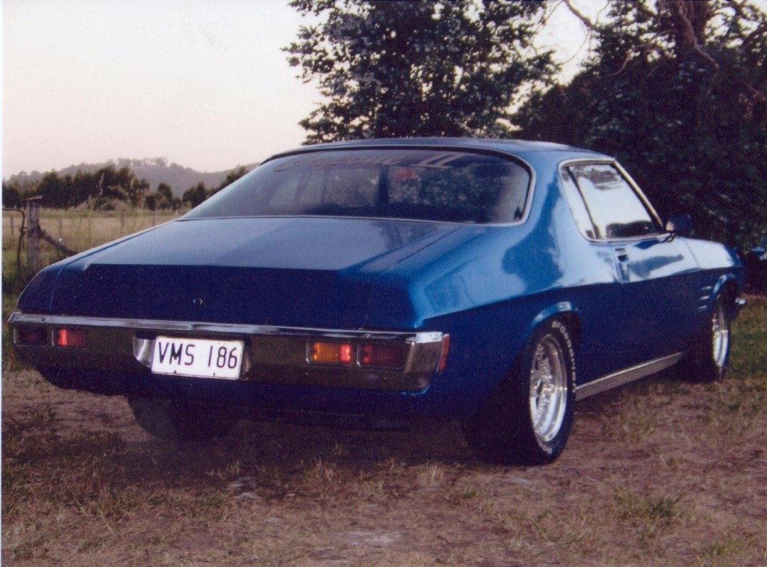 1972 Holden HQ GTS Monaro