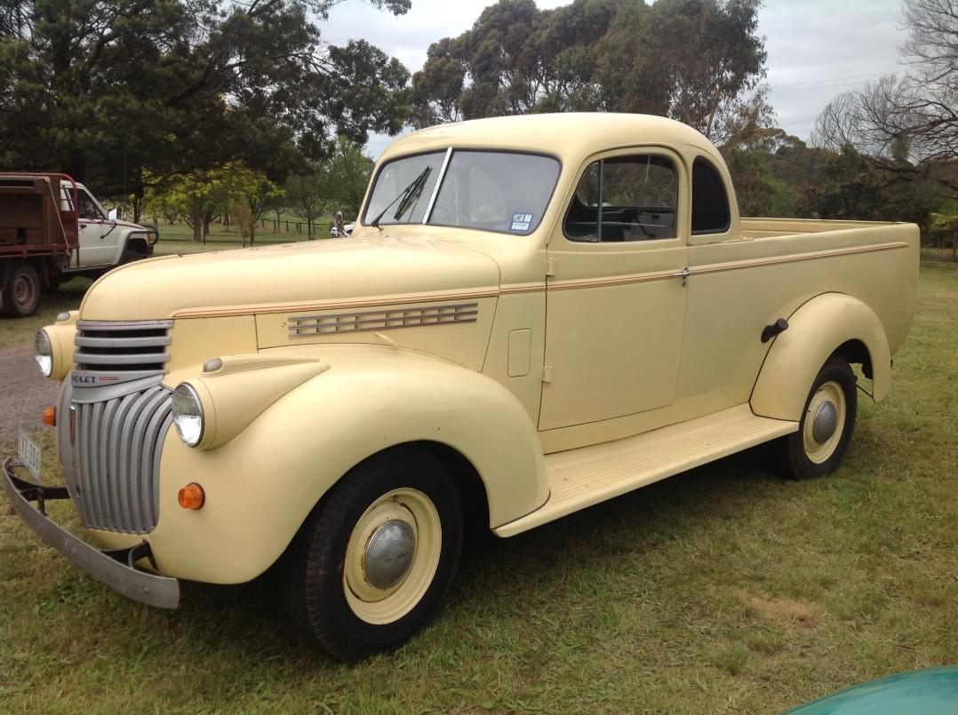 1945 Chevrolet 13 cwt