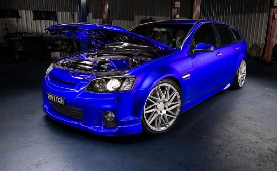 2011 Holden COMMODORE SS