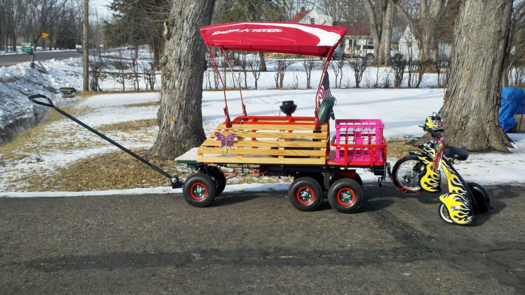 2012 Homemade Monster Wagon