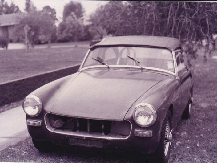 1963 Austin Healey Sprite Mk2A