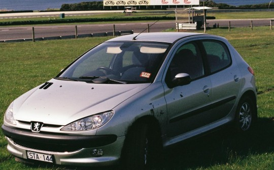2002 Peugeot 206 C