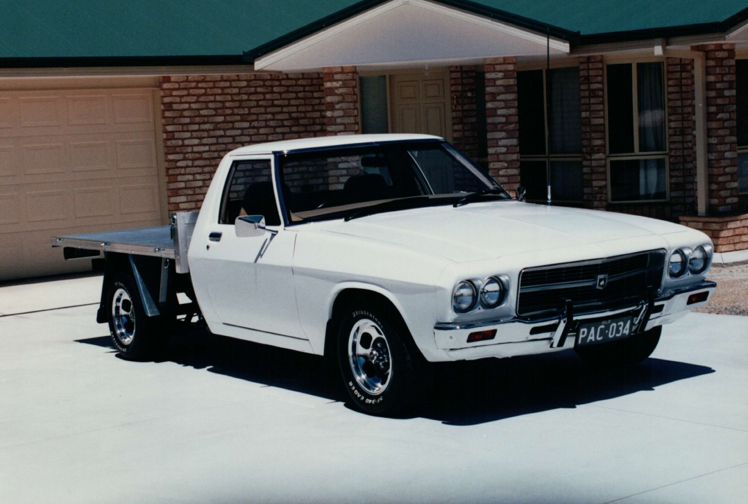 1972 Holden HQ One Tonner Cab Chassis
