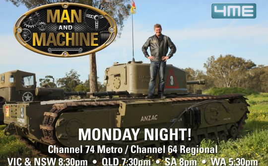 Upcoming Man and Machine TV Episode